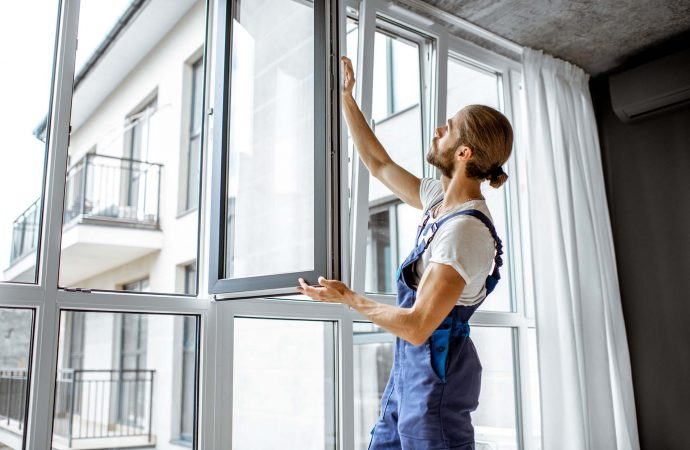 How do I prepare my house for replacement windows?